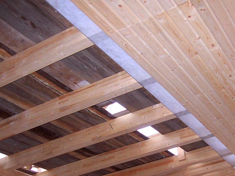 Стоимость монтажа подшивного потолка в бане