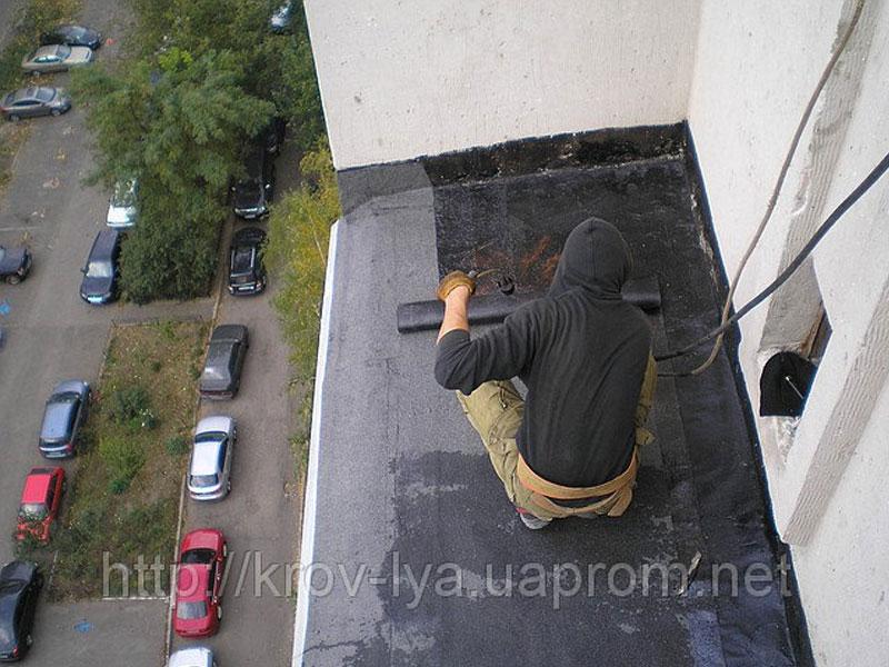 Гидроизоляция балконов и терасс.